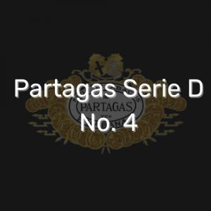 פרטגס סדרה D מספר 4   Partagas Serie D No. 4