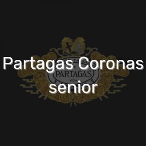 פרטגס קורונס סניור   Partagas Coronas senior