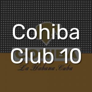 קוהיבה קלאב 10   Cohiba Club 10