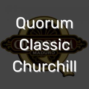 סיגר קוורום קלאסיק צ'רצ'יל | Quorum Classic Churchill