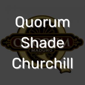סיגר קוורום שייד צ'רצ'יל | Quorum Shade Churchill