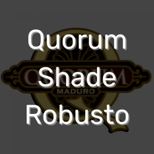 סיגר קוורום שייד רובוסטו | Quorum Shade Robusto