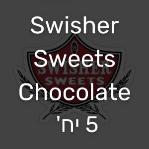 סווישר סוויטס סיגרילוס שוקולד 5 יח' | Swisher Sweets Chocolate