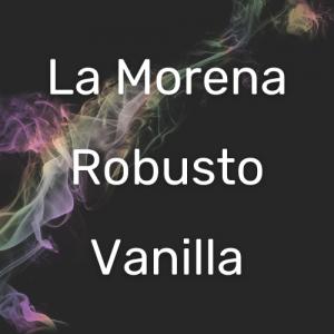 לה מורנה רובוסטו וניל   La Morena Robusto Vanilla