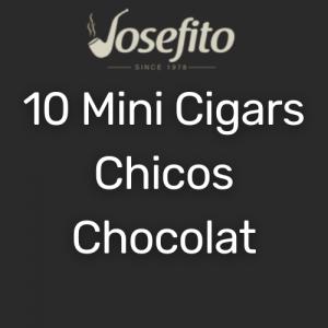 מיני סיגר צ'יקוס בטעם שוקולד | Mini Cigars Chicos Chocolate