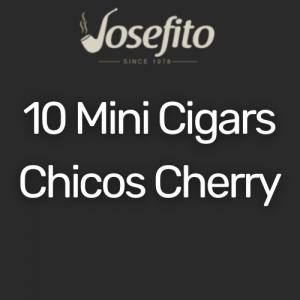מיני סיגר צ'יקוס בטעם דובדבן | Mini Cigars Chicos Cherry