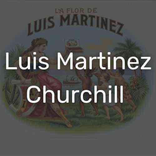 לואיס מרטינז צ'רצ'יל סיגרים איכותיים