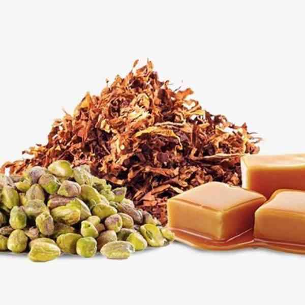 גרין שייד - תערובת טבק עשירה וכהה בתוספת אגוזי פיסטוק קלויים עם נגיעות קרמל ווניל.
