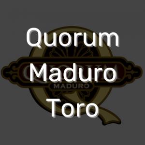 סיגר קוורום מדורו טורו | Quorum Maduro Toro