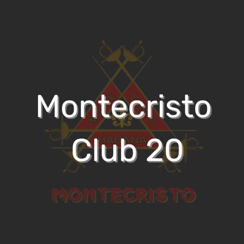 מונטקריסטו קלאב 20 הוא סיגר קובני