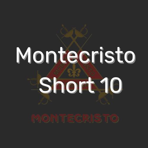 מונטקריסטו שורט 10 הינם סיגרילוס איכותיים